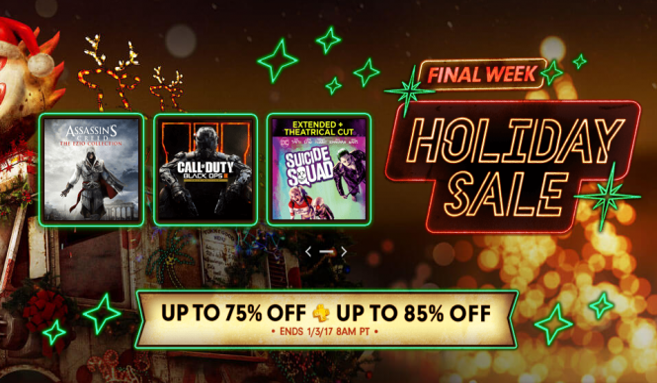 Final Week Of PlayStation Holiday Sale Kicks Off