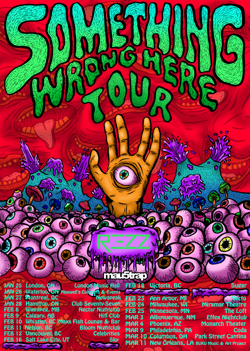 REZZ Announces Debut Headlining Tour 'Something Wrong Here'