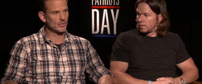 Exclusive Video Interview: Mark Wahlberg And Peter Berg Talk Patriots Day