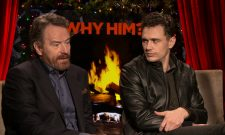 Exclusive Video Interview: Bryan Cranston And James Franco Talk Why Him?