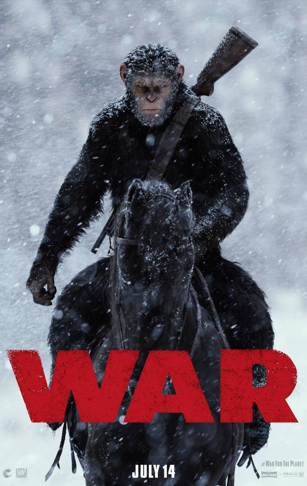 Caesar Charges Into Battle In The First Trailer For War For The Planet Of The Apes