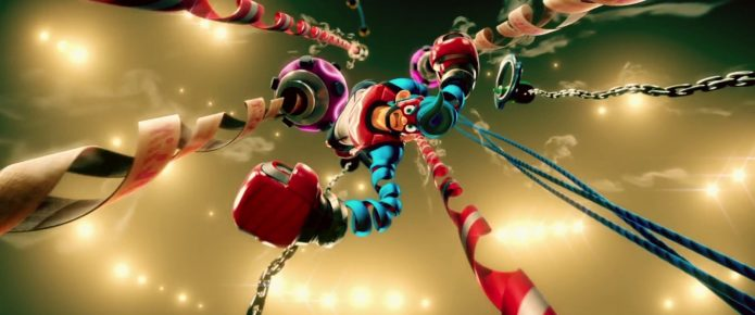 Wacky Switch Launch Window Title Arms Is Full of Arm-Extending Action