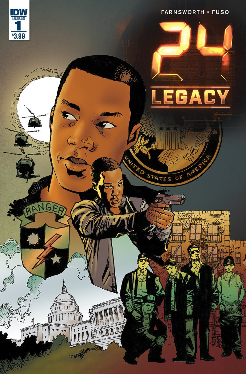 24: Legacy - Rules Of Engagement Prequel Comic Launches In April