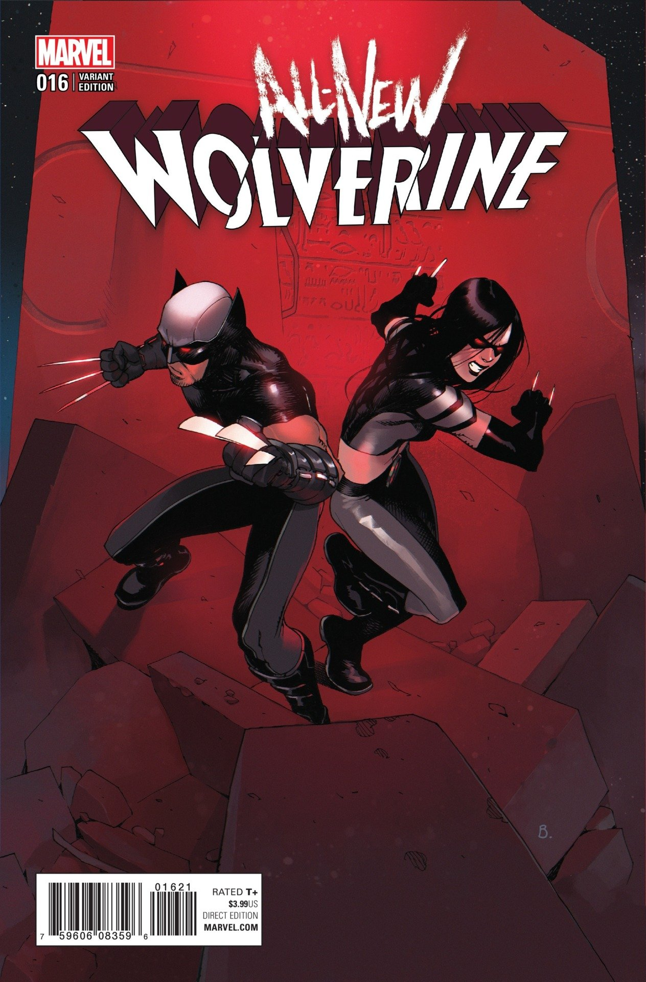 Laura Kinney Is Wired In All-New Wolverine #16