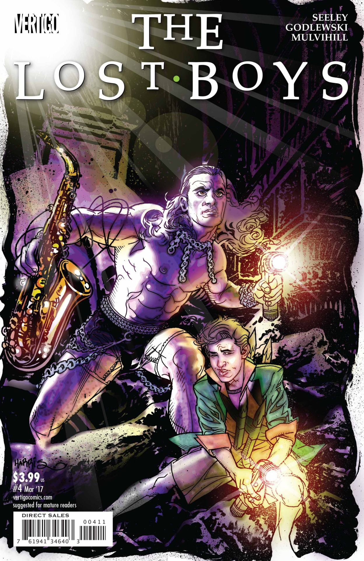 The Lost Boys #4 Will Make A Believer Out Of You