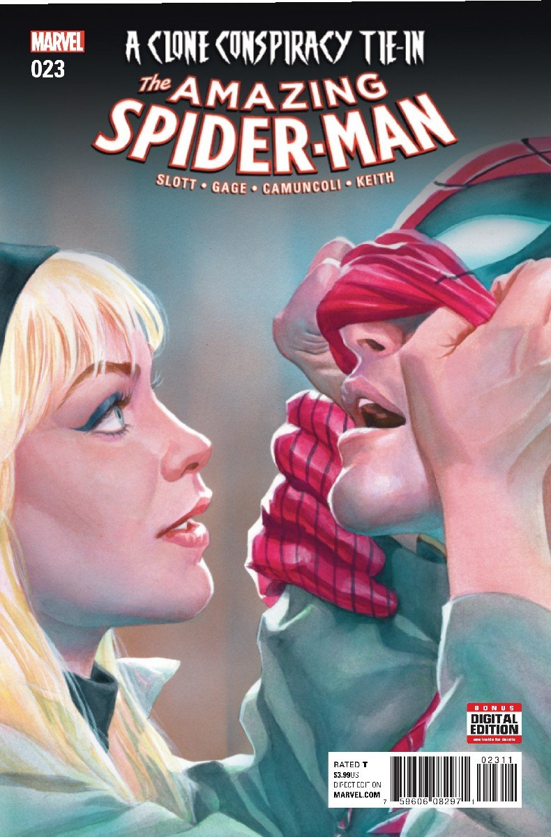 Peter Parker Confronts Gwen Stacy In The Amazing Spider-Man #23 Preview