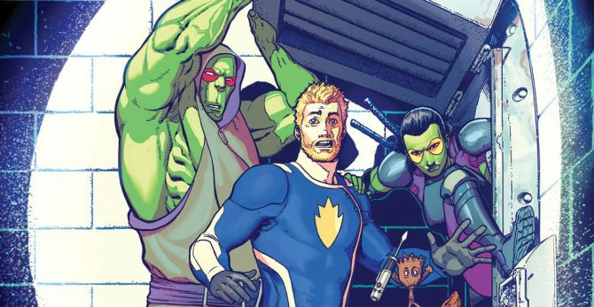 Marvel Primes Guardians Of The Galaxy And Defenders For Free Comic Book Day