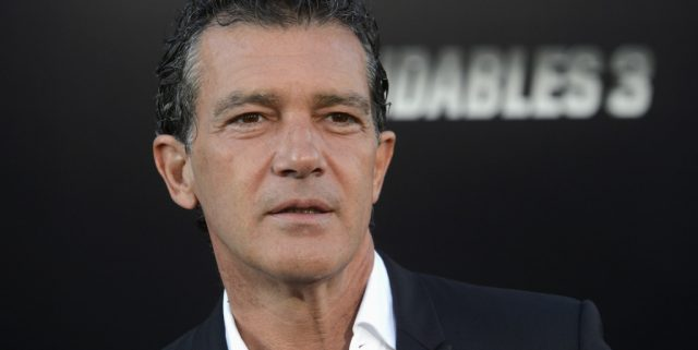 "Antonio Banderas attends the premiere of ""The Expendables 3"" in Los Angeles"