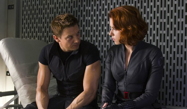 "Jeremy Renner Says A Black Widow/Hawkeye Spinoff Movie ""Makes Sense"""