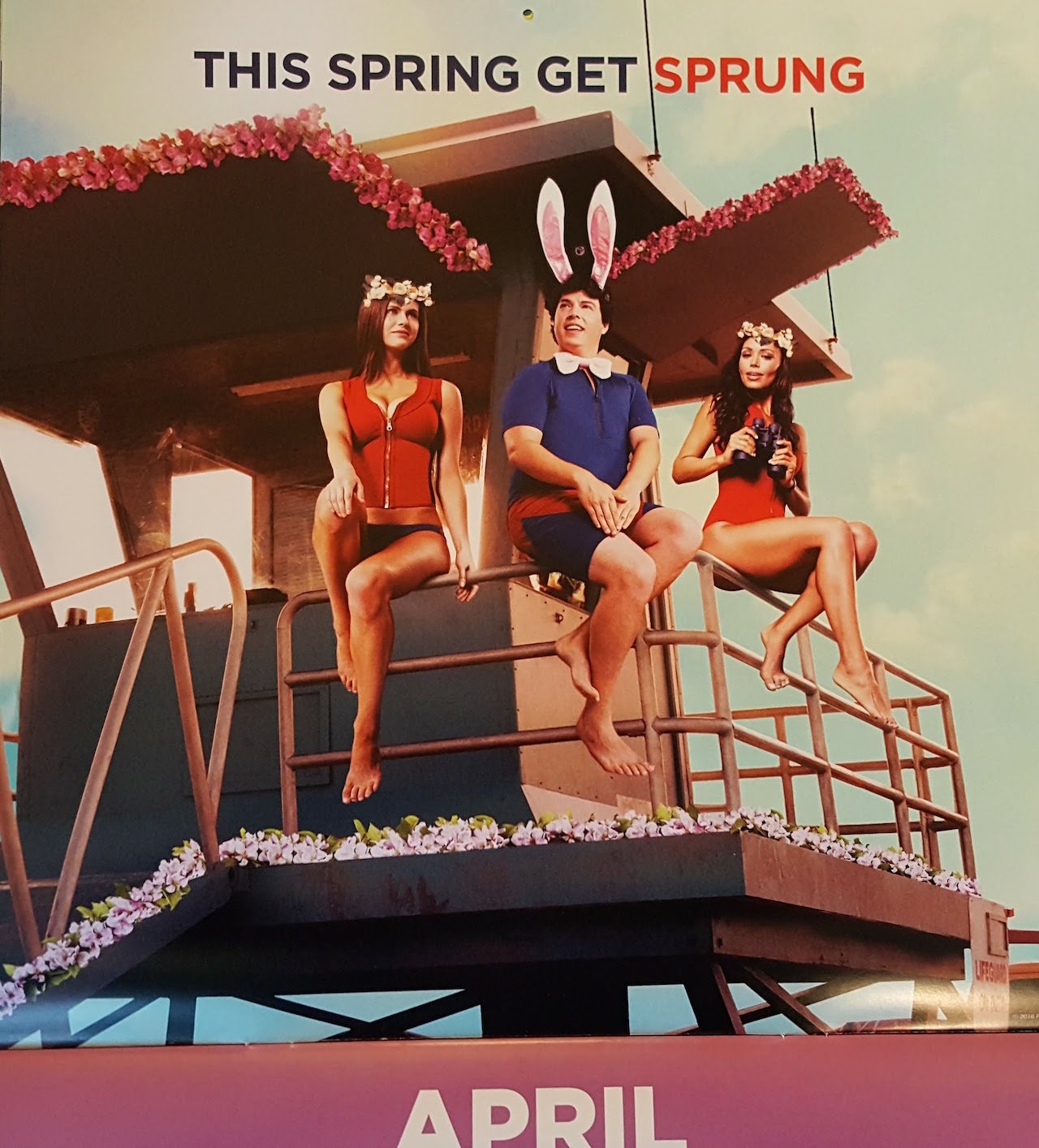 Official Baywatch Calendar Brings You Closer To The Action