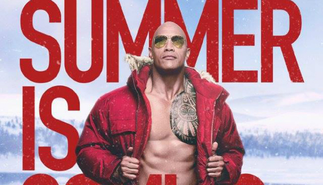 Icy Character Posters For Baywatch Look Forward To Summer