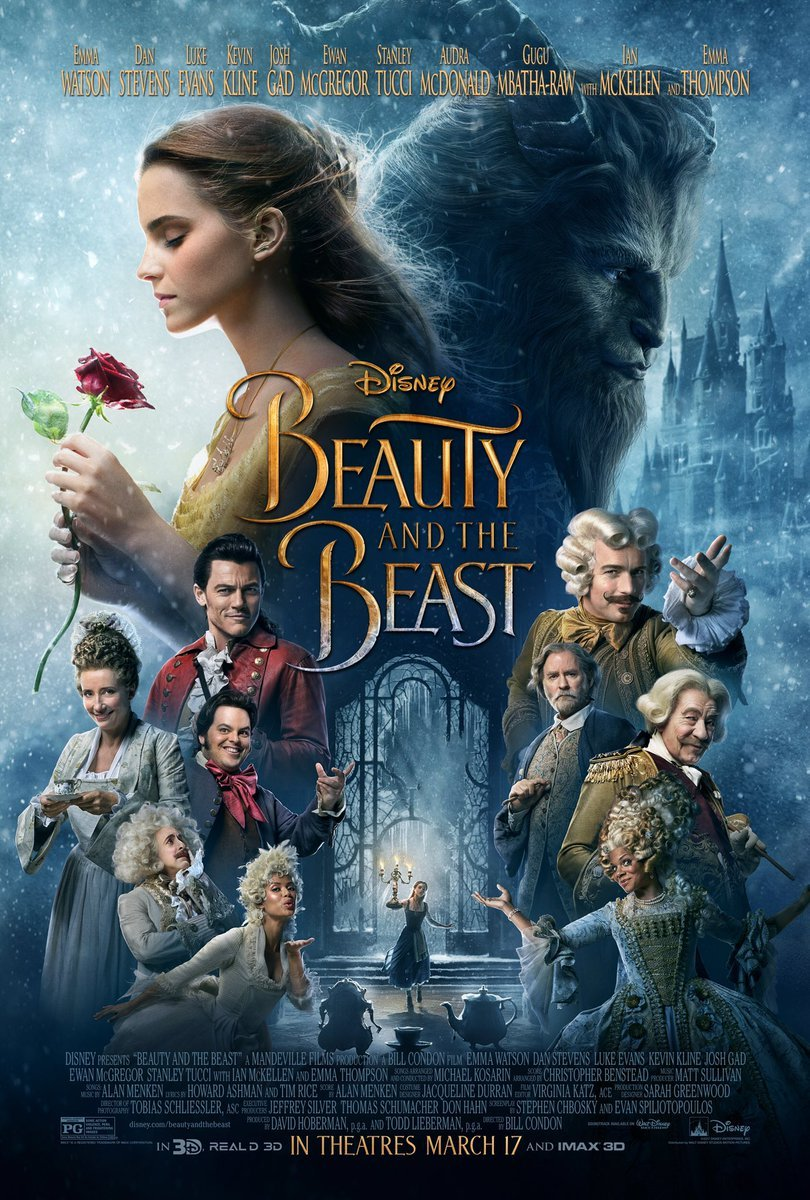 Beauty And The Beast And The Entire Cast Of Disney's Reboot Feature On New Poster; Watch Latest TV Spot