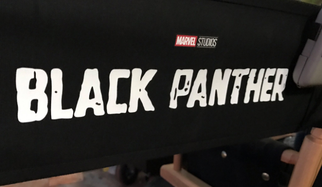 Black Panther Lands Revamped Logo, Michael B. Jordan Shares New Set Photo