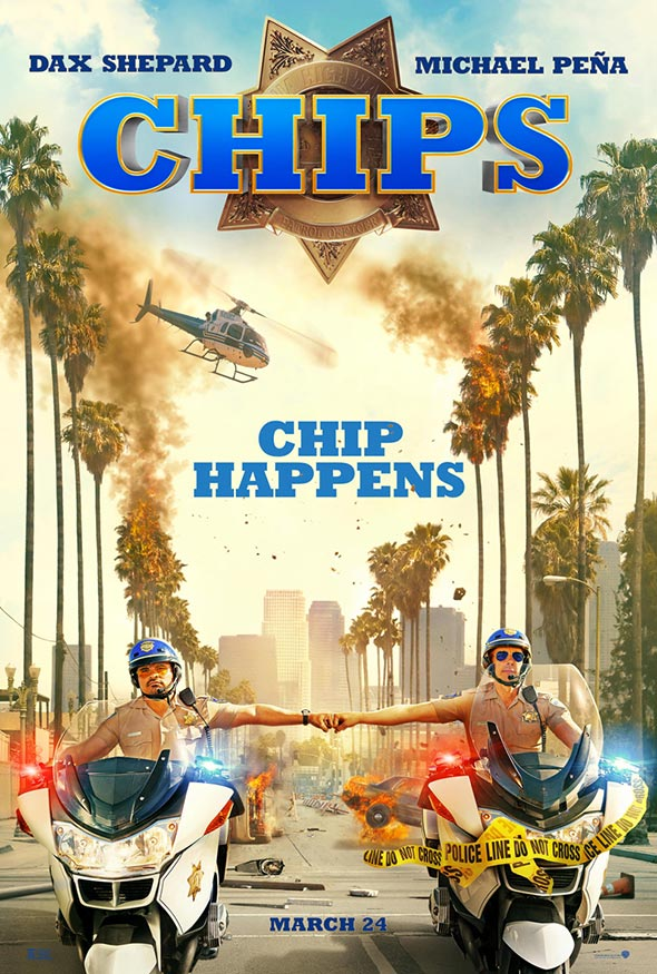 Red Band Trailer For CHIPS Features Bad Cops Gone Wild