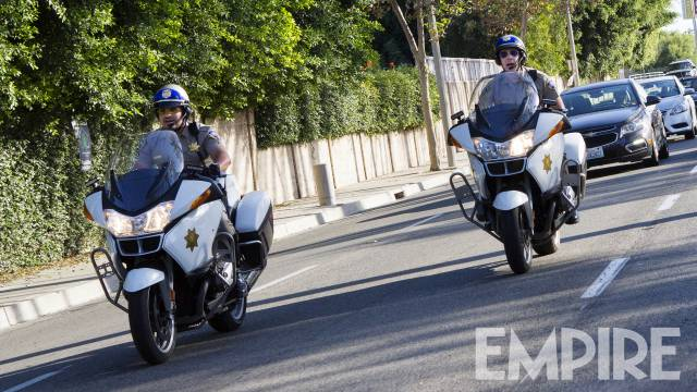 CHIPS: Dax Shepard And Michael Peña Hit The Highway In New Photo