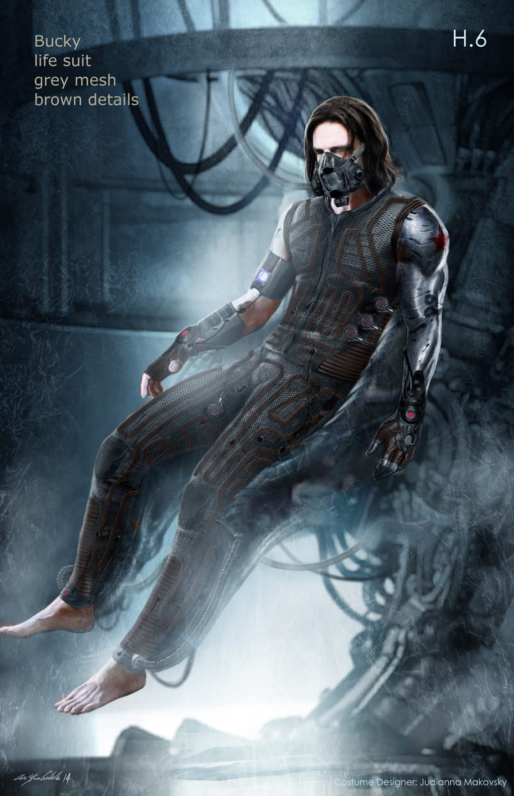 New Captain America: Civil War Concept Art Shows Off Alternate Costumes