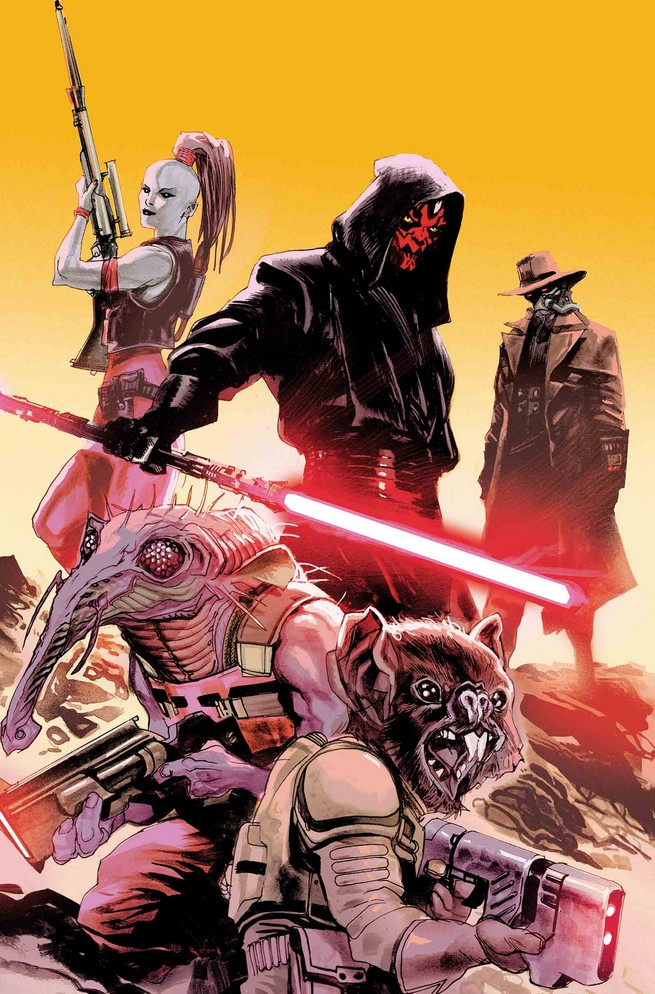Some Familiar Faces From Star Wars: The Clone Wars Return In Darth Maul #3