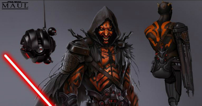 Concept Art For Canned Darth Maul Game Reveals What Could Have Been