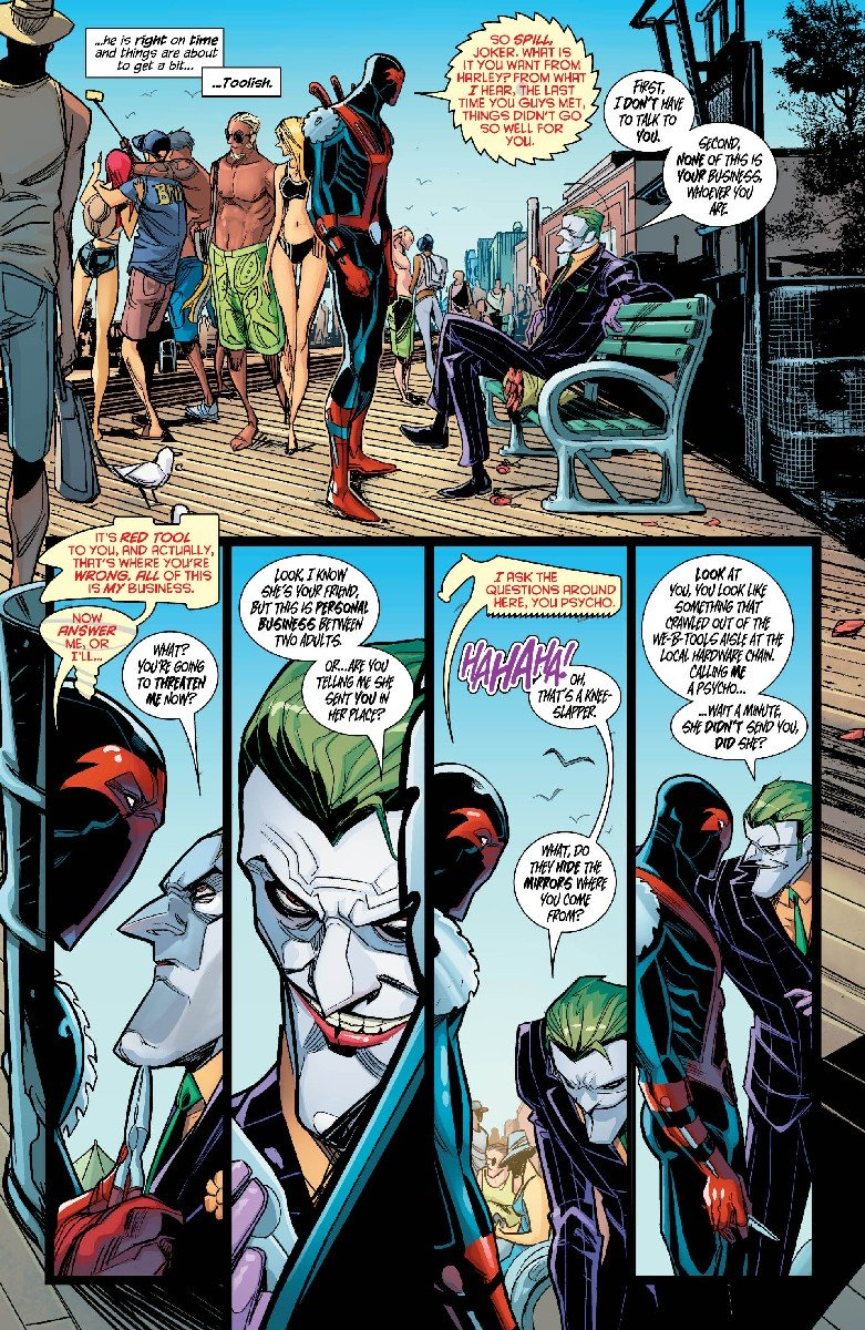 Harley Quinn #12 Review