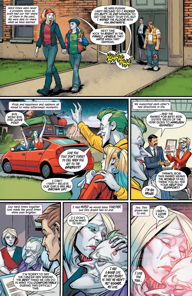 All Will Be Revealed In Harley Quinn #13