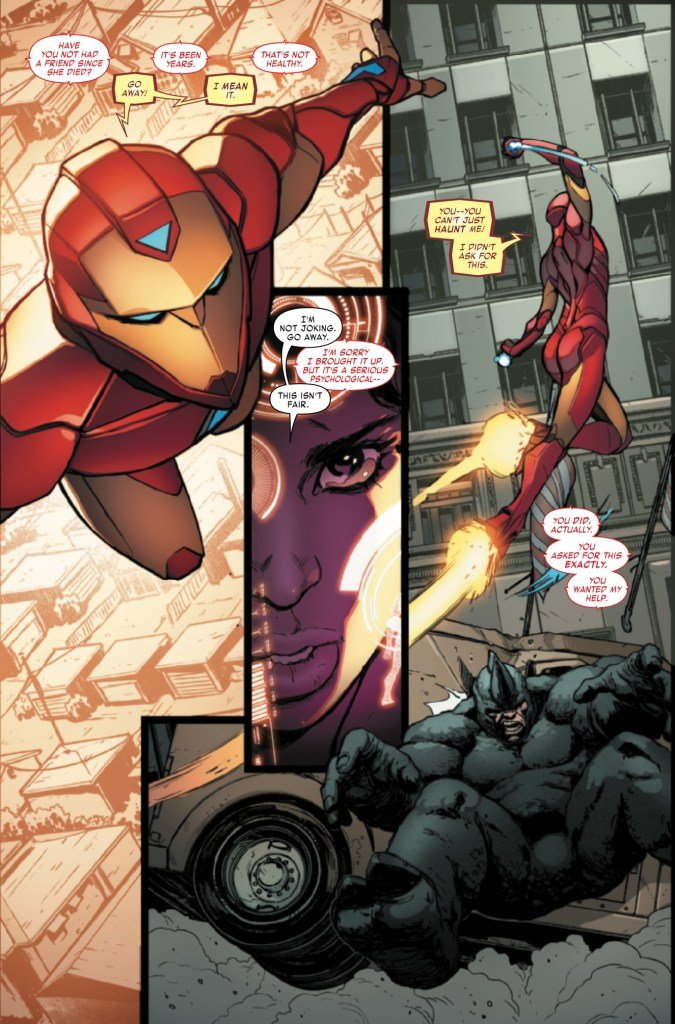 Riri Williams Flies High In New Invincible Iron Man Trailer