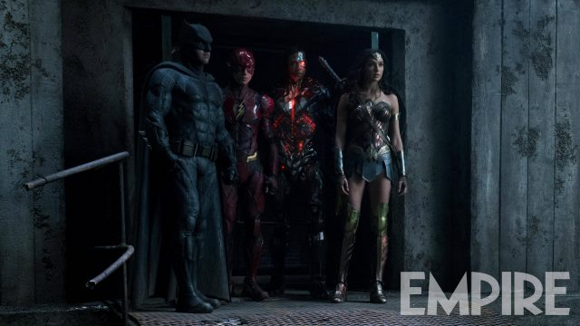 High-Res Justice League Image Gathers Four Of DC's Finest