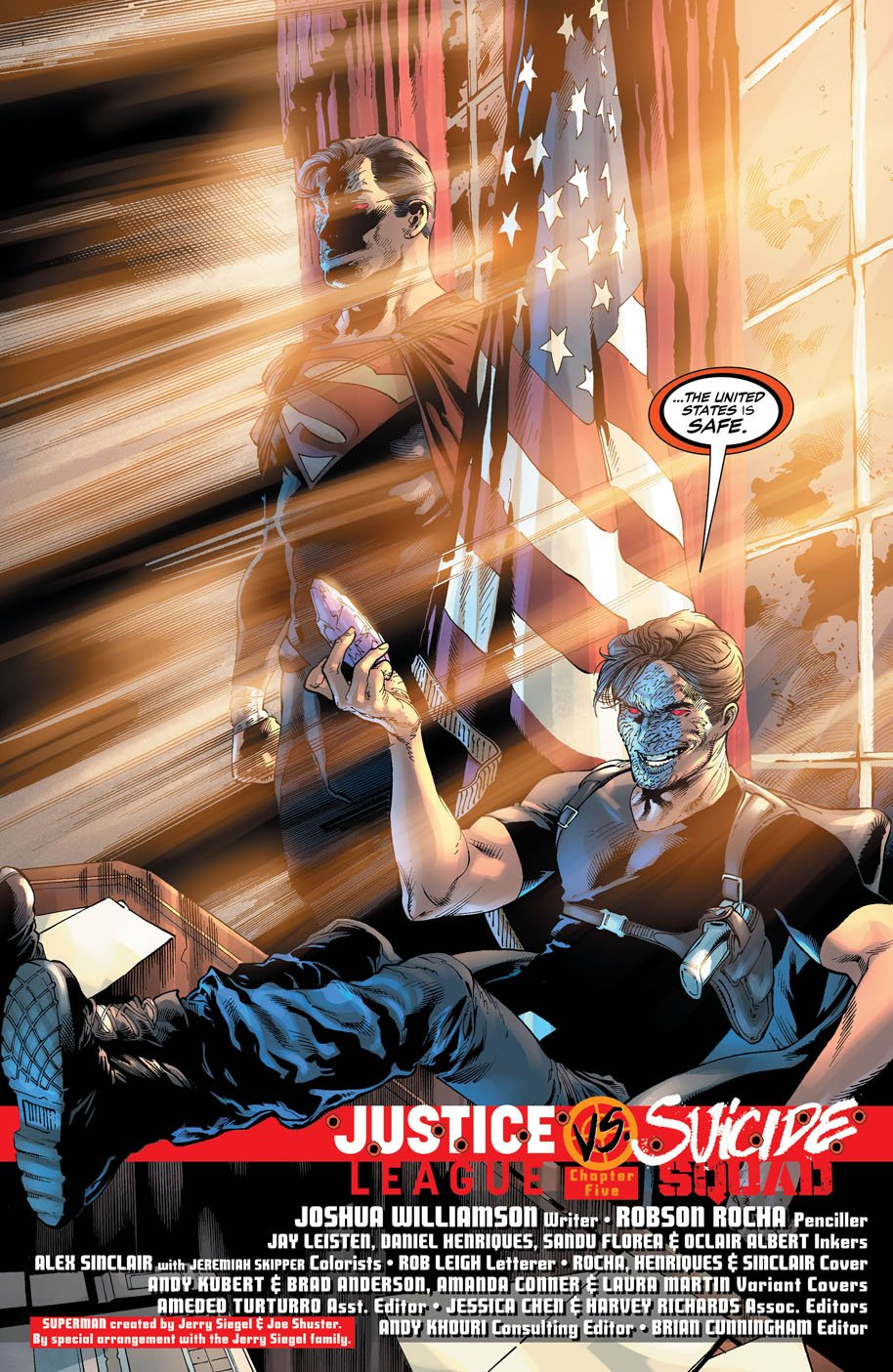 Maxwell Lord Goes To Washington In Justice League Vs. Suicide Squad #5