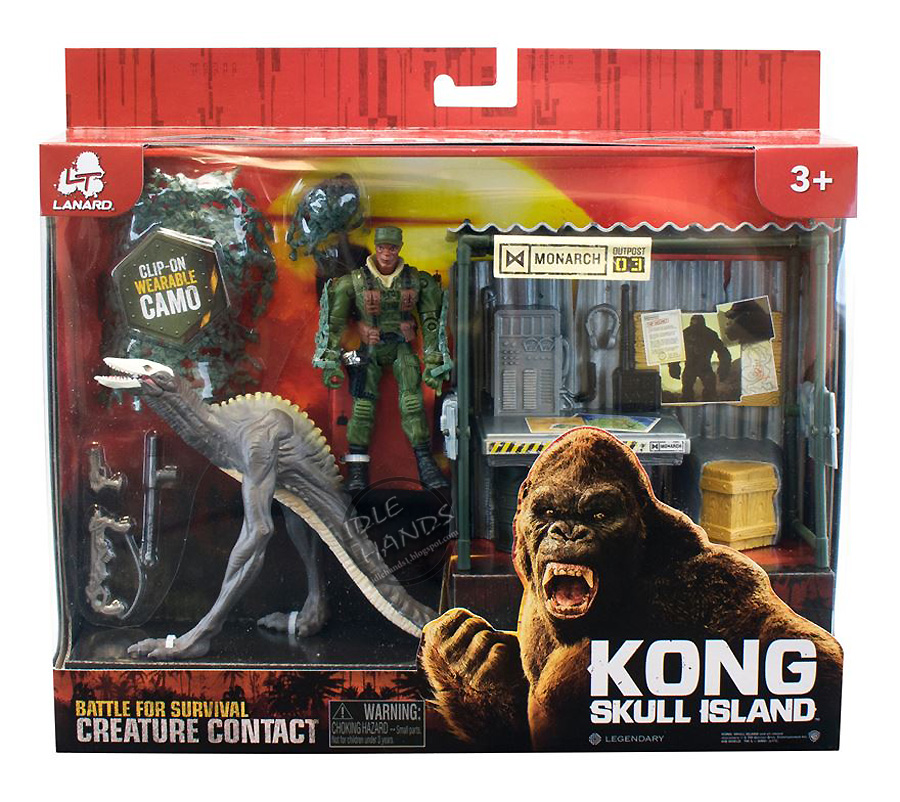 Toy Line For Kong: Skull Island Provides New Look At The Skull Crawlers