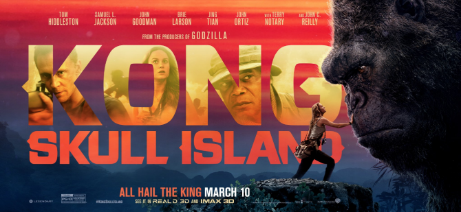 All Hail The King: Check Out The All-New Banner Poster For Kong: Skull Island