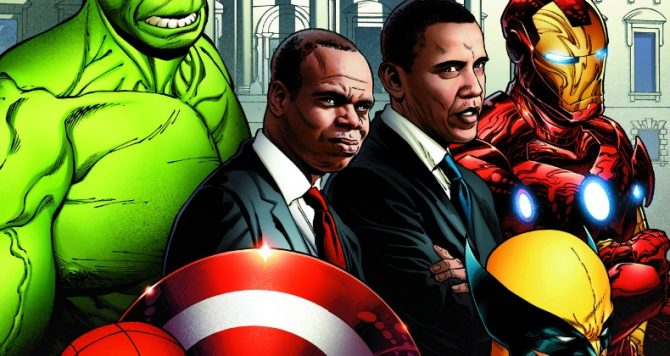 Joe Quesada Reveals Amazing Piece Of Marvel Artwork Commissioned By President Obama