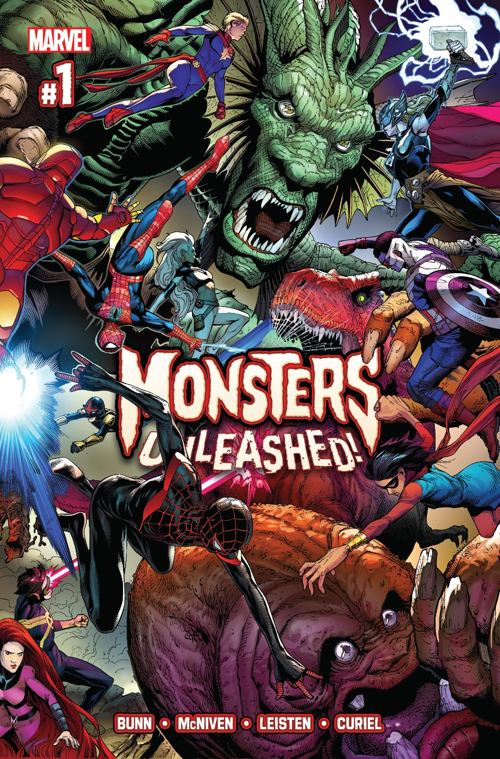 Marvel Offers Gargantuan Monsters Unleashed #1 Preview