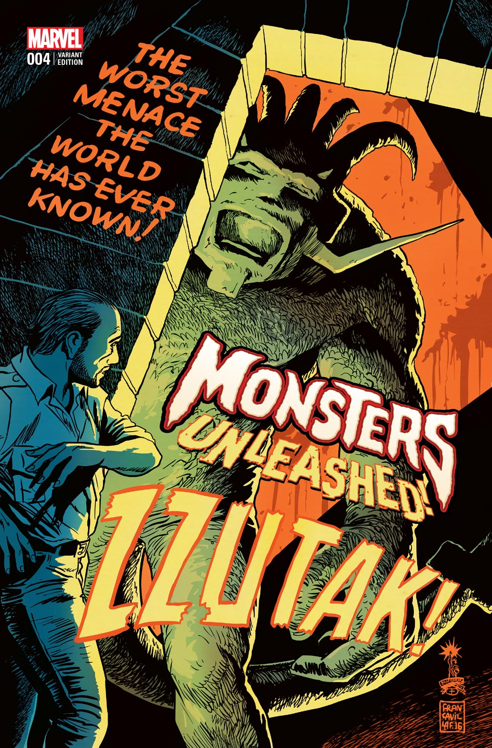 Francesco Francavilla Provides Monsters Unleashed Variant Covers