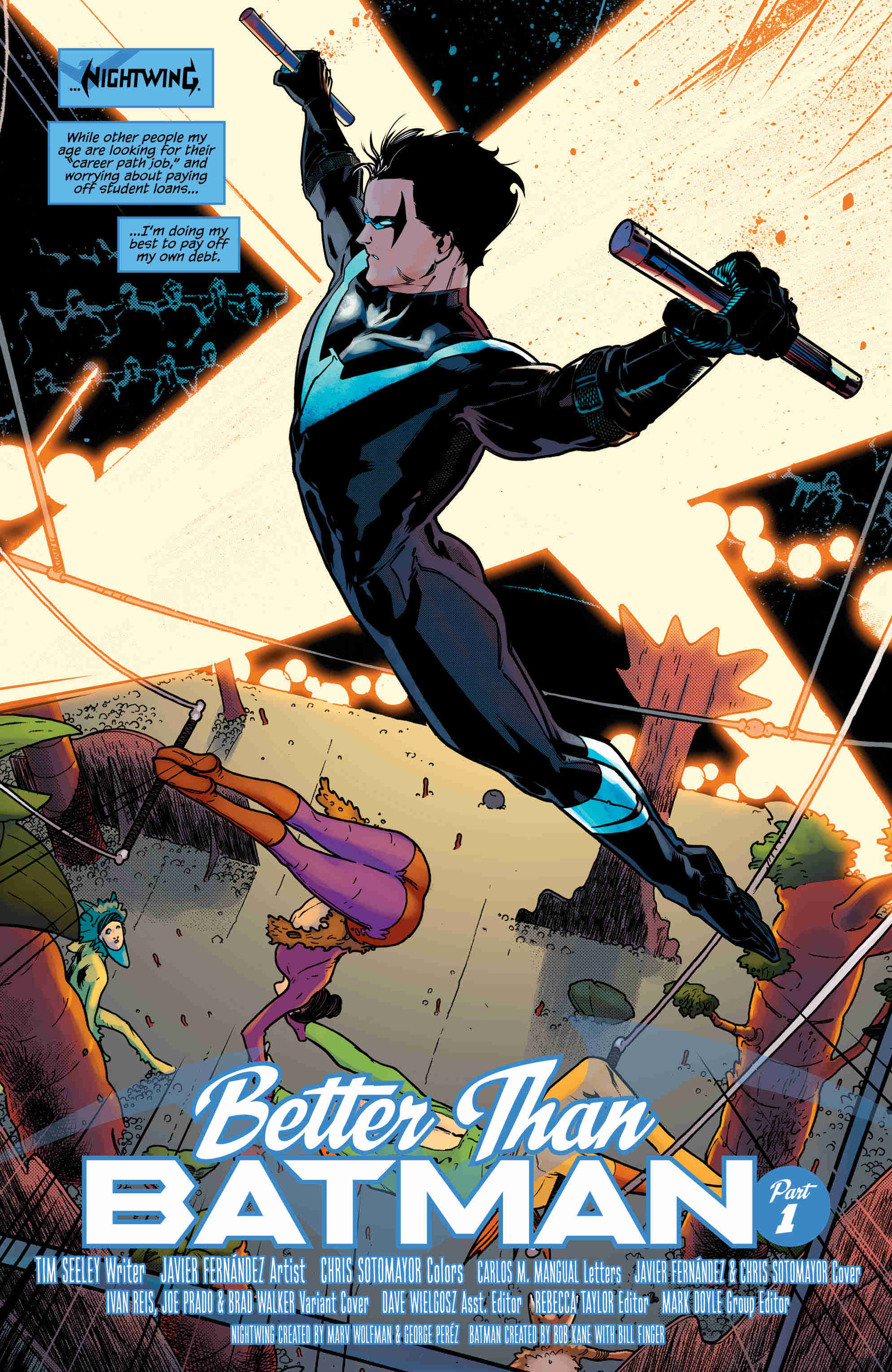 Nightwing Vol. 1: Better Than Batman Review