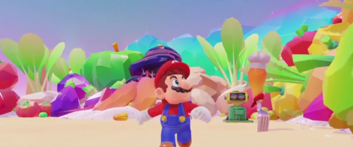 Super Mario Odyssey Coming To Nintendo Switch Holiday 2017