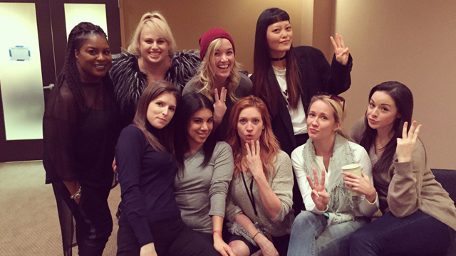 The Barden Bellas Reunite As Filming On Pitch Perfect 3 Begins