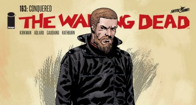 Variant Cover For The Walking Dead #163 Gives Rick Grimes A Drastic Makeover