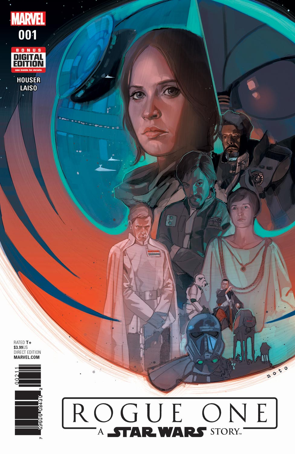 Rogue One: A Star Wars Story To Get Comic Book Adaptation This Spring