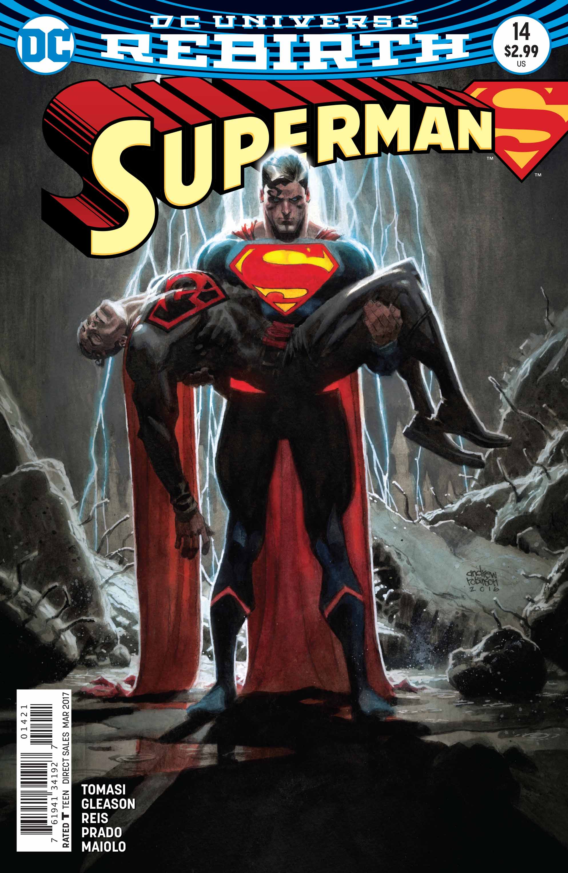 A Red Son Rises In Superman #14