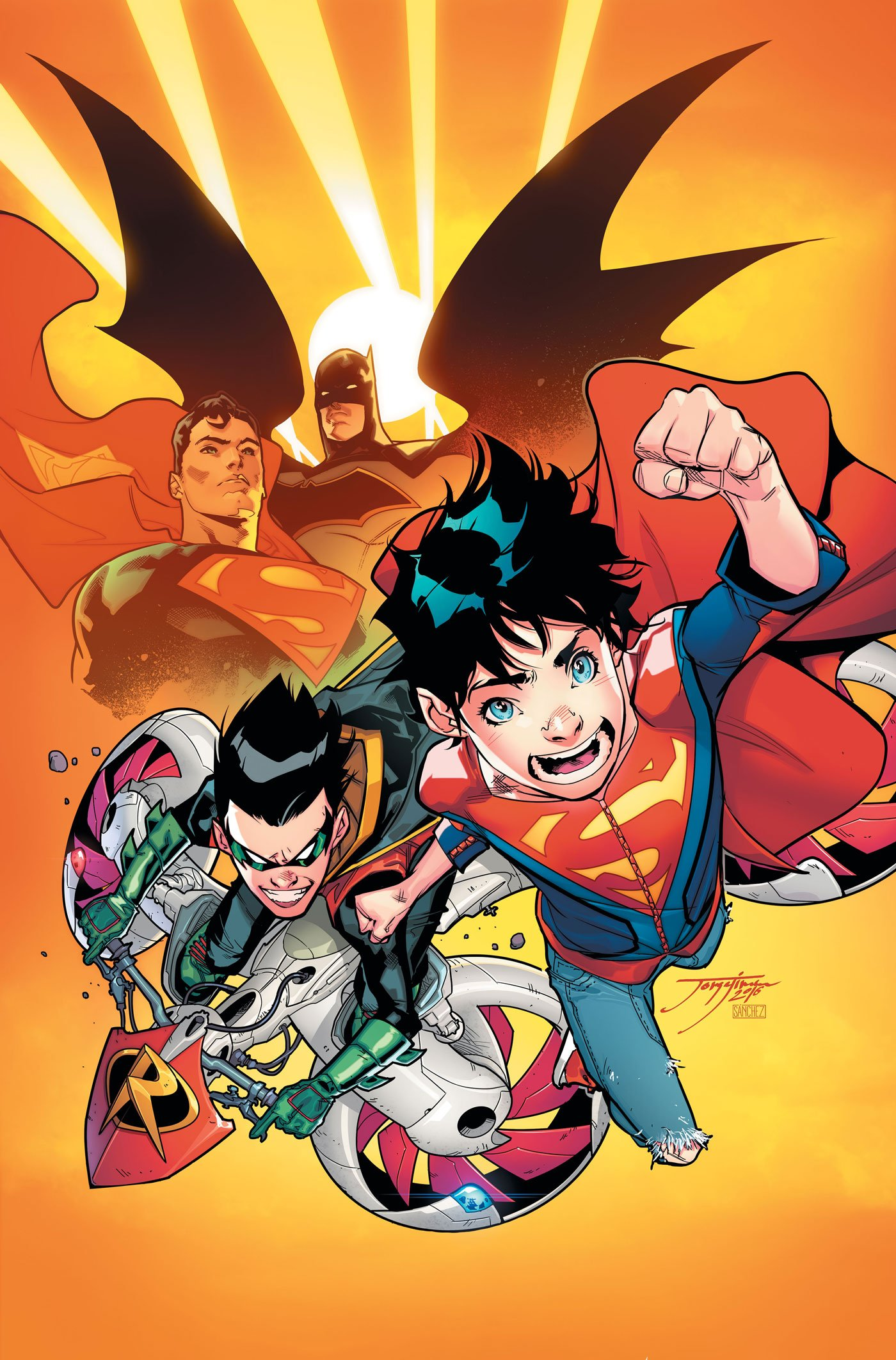 Robin And Superboy Unite In First Look At Super Sons #1