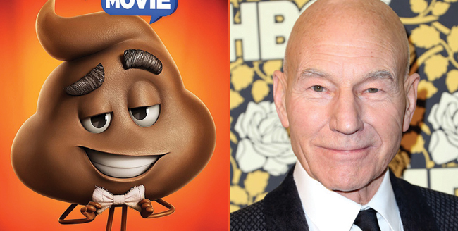 The Emoji Movie Fills Out Voice Cast With Patrick Stewart, Jennifer Coolidge And More