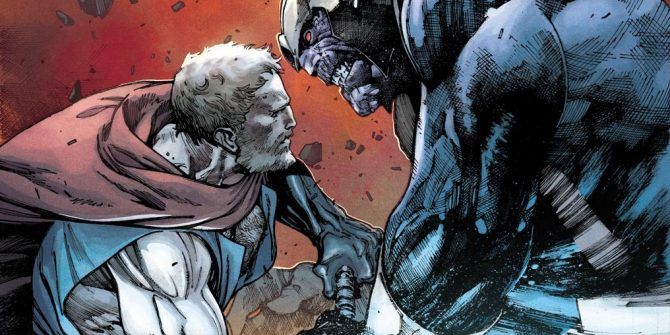 Thor Battles Thanos For Mjolnir On New Cover For The Unworthy Thor #5