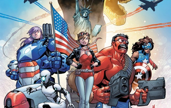 U.S.Avengers #1 Introduces A New Red Hulk