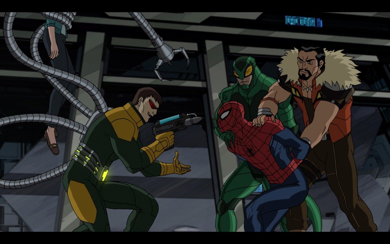 tv show marvels ultimate spider man vs the sinister