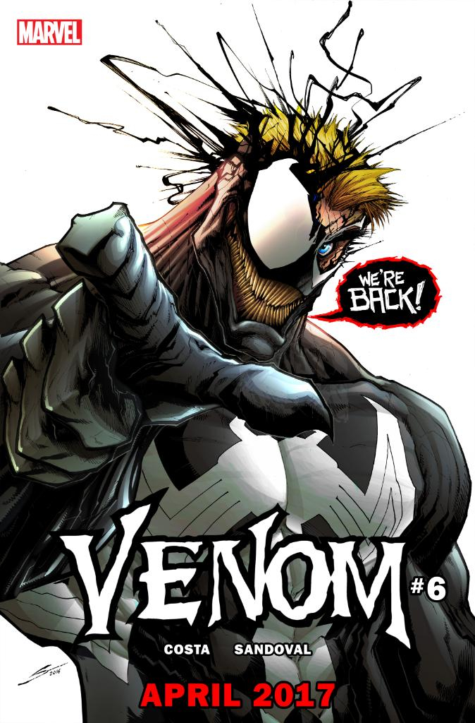 Eddie Brock Returns To Venom This April