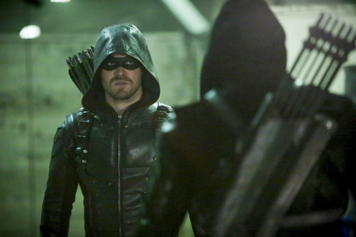 Oliver Queen Tracks Down Prometheus In First Photos From Arrow's Midseason Premiere
