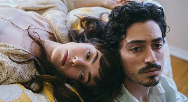 Ben Feldman and Olivia Thirlby in Between Us