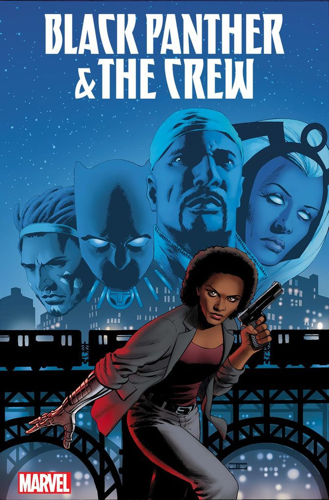 Marvel Announces Black Panther & The Crew