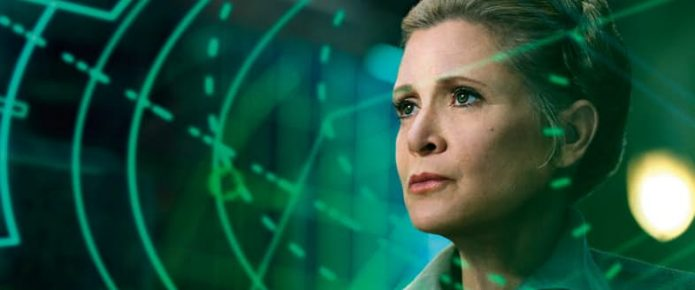 Carrie Fisher's Role In Star Wars: The Last Jedi Will Remain The Same