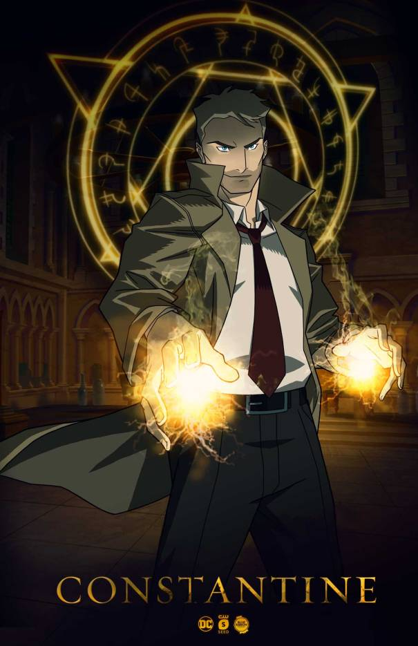 The CW Renews DC TV Shows, Resurrects Constantine As Animated Web Series