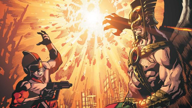 The War Rages On In Death Of Hawkman #4